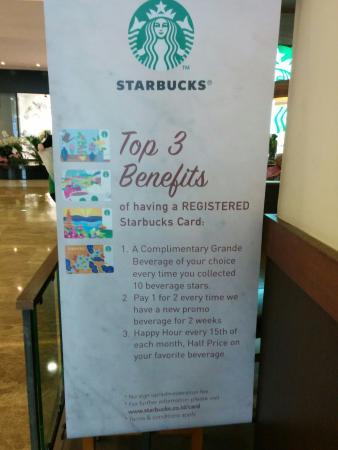 Exposure benefit member di Starbucks Central Park, Jakarta
