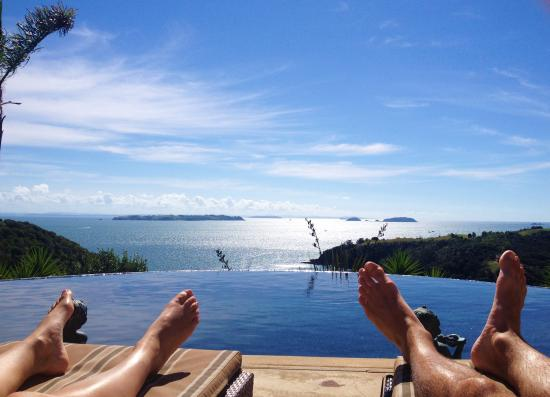 Delamore Lodge: Infinity with a view