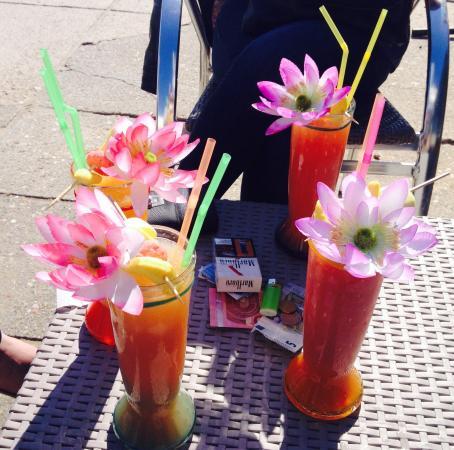 Cocktail de jus de fruits picture of la jamaique la for Cocktail jus de fruit