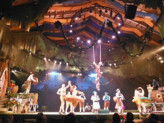 Impressive Acrobatics In Roll Out The Barrels Show Picture Of Busch Gardens Williamsburg