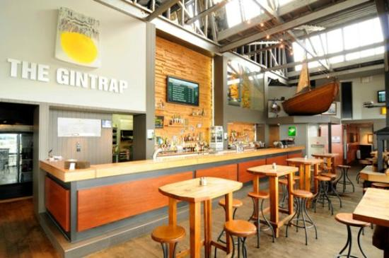 The Gintrap Restaurant & Bar: place to drink New Zealand gin and cocktails
