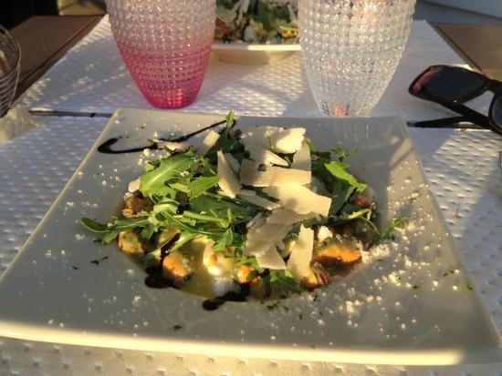 Hissez O : Risotto moules curry du menu à 13,50E