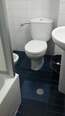 Hostal Salud: wc