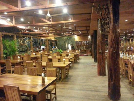 Rumah Laut Cafe Restoran View Inside Beautiful