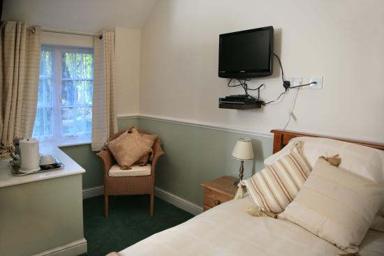 Great Cheverell, UK: Twin Room