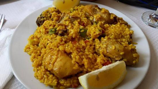 Pension Veracruz : foto 3 - la paella del ristorante