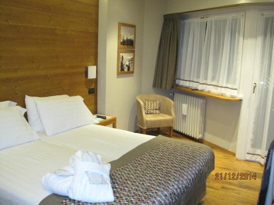 Hotel Larice Bianco : Letto