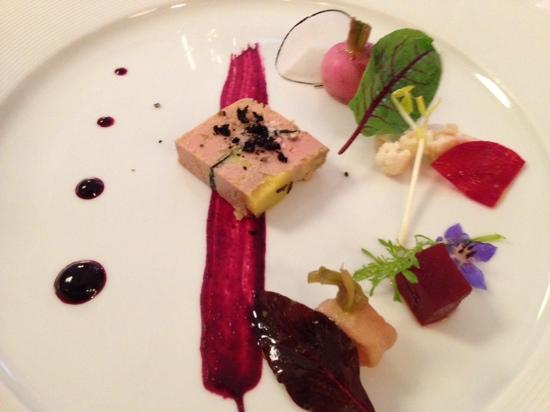 Loiseau Rive Gauche : foie gras aux truffes