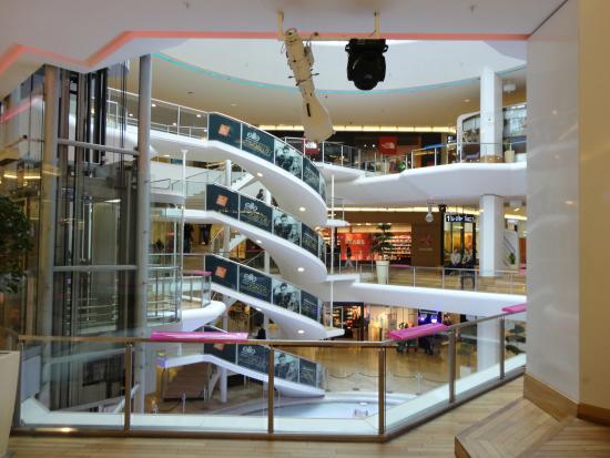 La Part-Dieu Shopping Center: ショッピングセンター内