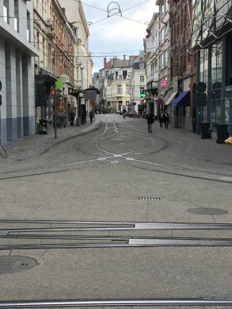 Best Western Residence Cour Saint Georges: Just a streetscape in Gent