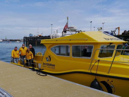 Bumblebee Boat Cruises: Bumblebee and crew