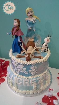 Swell Torta Frozen Cake Design Picture Of Cake Si Gira Rome Tripadvisor Personalised Birthday Cards Epsylily Jamesorg
