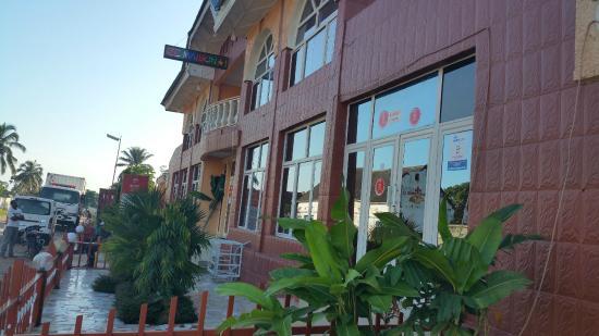 Kananga, République démocratique du Congo: Outside view of hotel