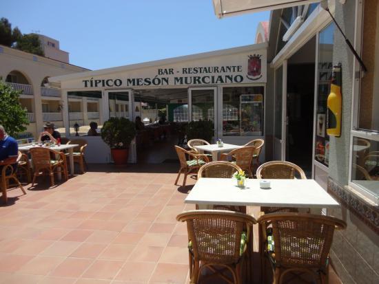 Restaurante Tipico Meson Murciano : Entrada