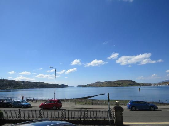 Wellpark House: The stunning view of Oban bay from our house