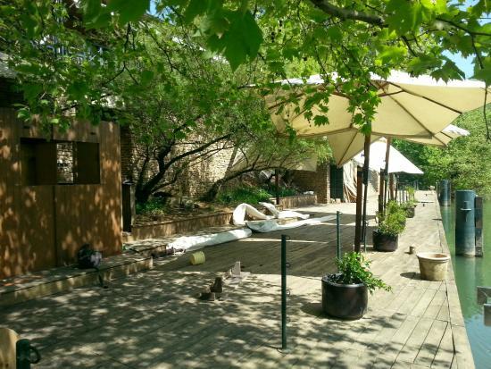 buldo : La terrasse ponton en préparation !!!! quel décor !!!!
