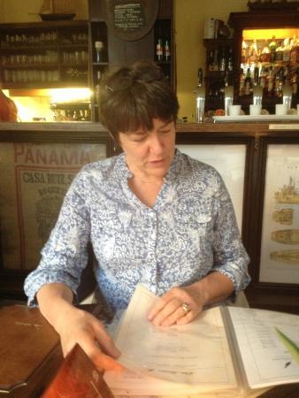 Das Kontor: Lecture du menu