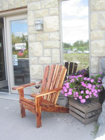 Have A Seat Relax A While Picture Of Sugarbush Vineyards