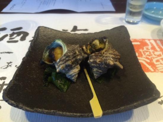 Kairi Murakami: さざえ壺焼き2種