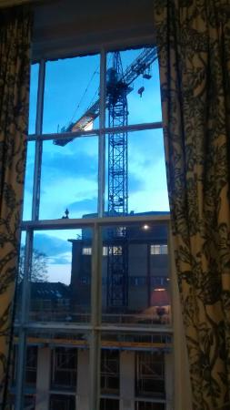Royal Cambridge Hotel: Great view - not!
