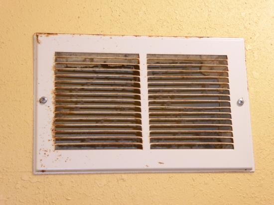 Baymont Inn & Suites Warrenton: rusty vents