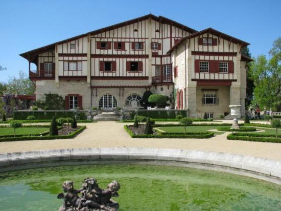 Jardin la fran aise de la villa arnaga jardin l for Jardin a la francaise