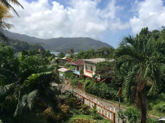 Charlotteville, Tobago: View from our balcony