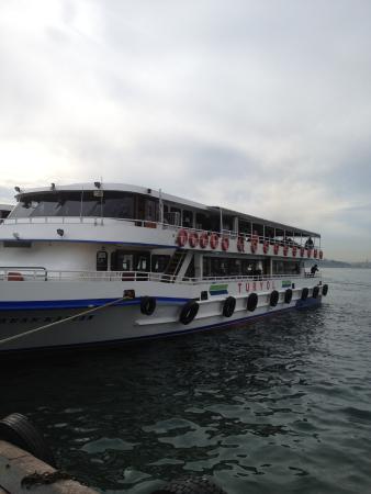 Kadikoy Istanbul Boga Meydani: Tour boats