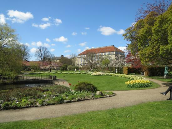 Frederiksberg, Danemark : The main garden