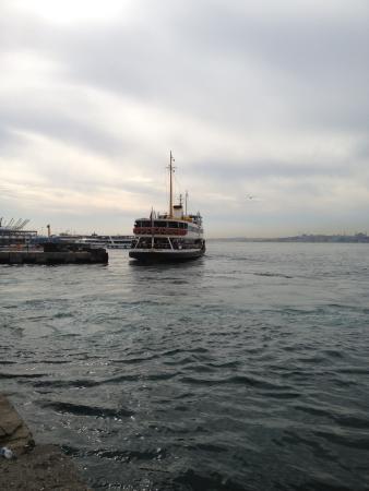Kadikoy Istanbul Boga Meydani: Kadıköy pier