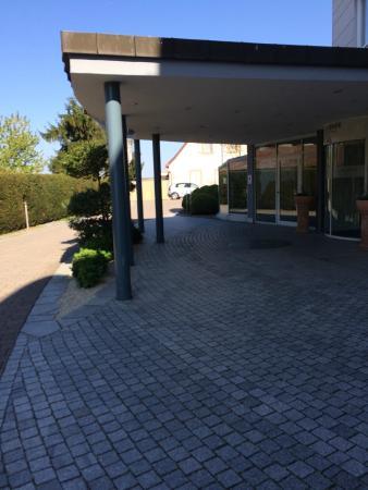 Lindner Hotel and Spa Binshof: Hoteleingang