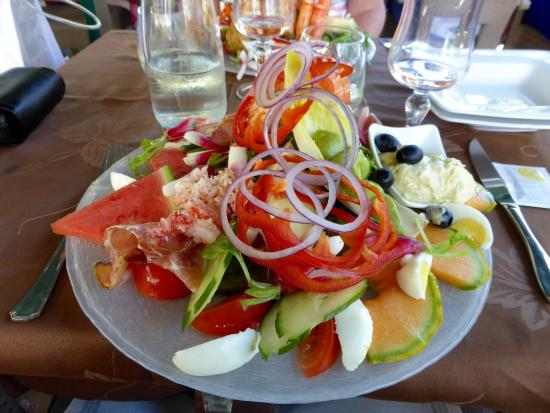 Salade au vieux gassin