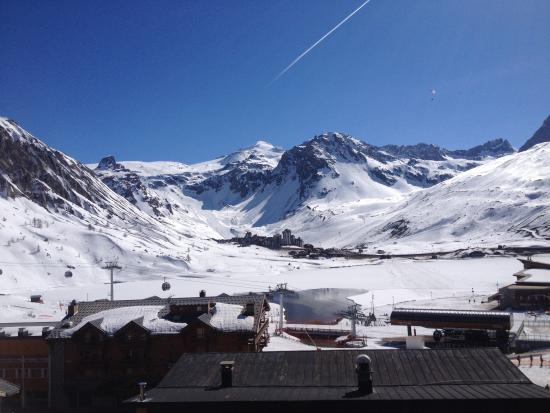 L'Aiguille Percee : View from 5th floor room