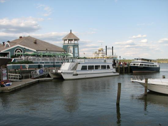 Potomac Riverboat Company : Dock Where You Board in Old Town