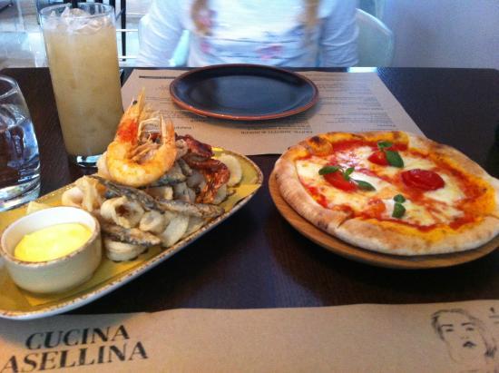 Cucina Asellina: Fritti & Pizzette
