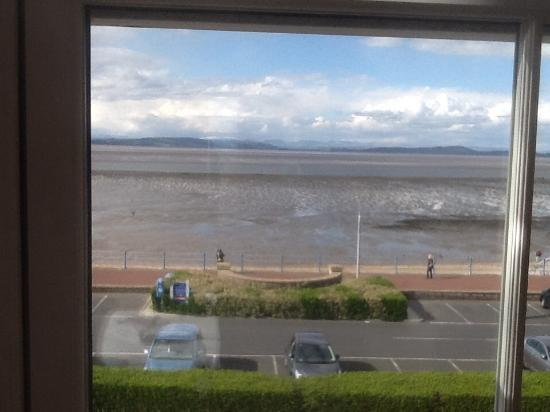 The Crown Hotel: View from the bedroom