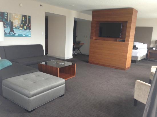 Executive suite living room area. - Picture of Hyatt Regency ...