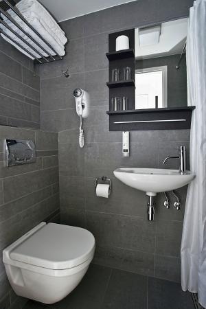 Hegra Hotel: badkamer