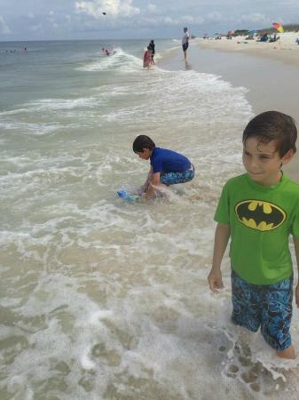 St. Joseph Peninsula State Park: Beach