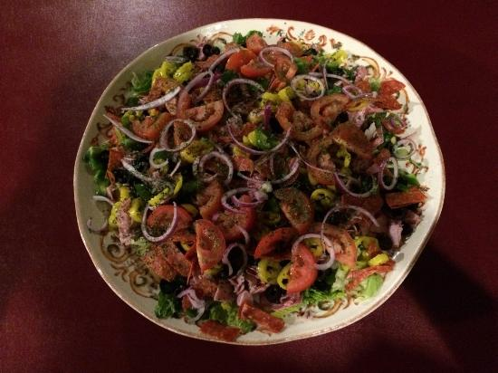 Foggia Brothers: wonderful salad that was made today..