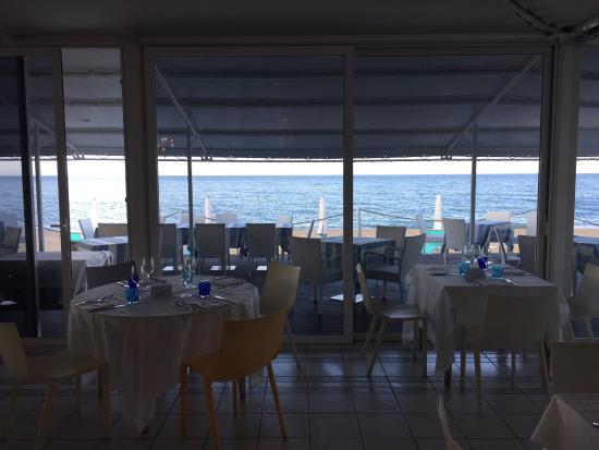 la terrazza... - Picture of Bocasalina Restaurant Numana, Numana ...