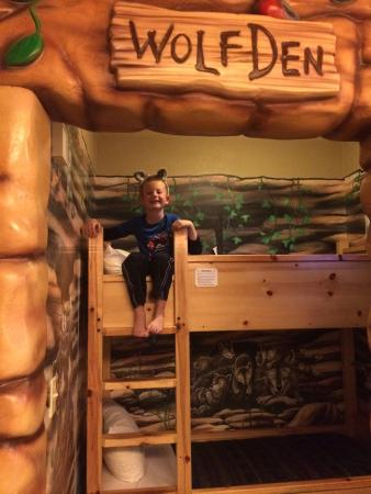 Great Wolf Lodge Waterpark: Fun rooms for kids