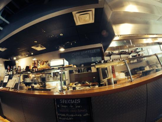 Cafe Bastille : Kitchen
