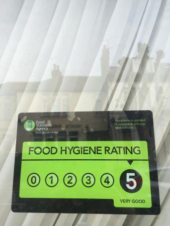 Our 5 star hygiene rating picture of akdeniz turkish for Akdeniz turkish cuisine