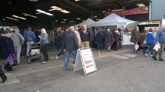 Melton Mowbray, UK: well attended fair