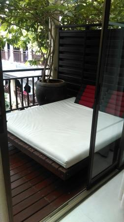 Burasari Resort: Day bed