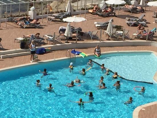 Sunprime Waterfront : Vattengymnastik