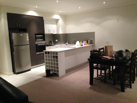 Verandah Apartments Perth Attached Kitchen Dining Area