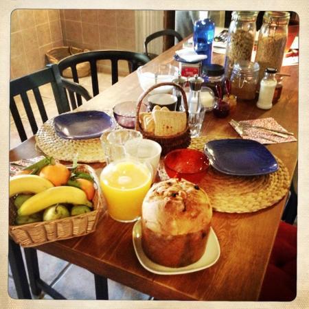 El desayuno en casa la yedra picture of casa la yedra lubrin tripadvisor - Desayunos en casa ...