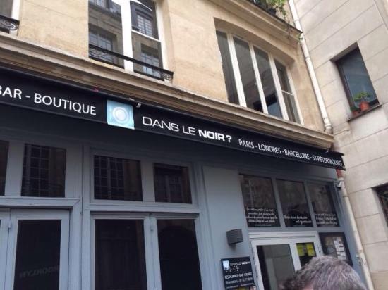 Dans le Noir ? : Adresse incontournable de Paris